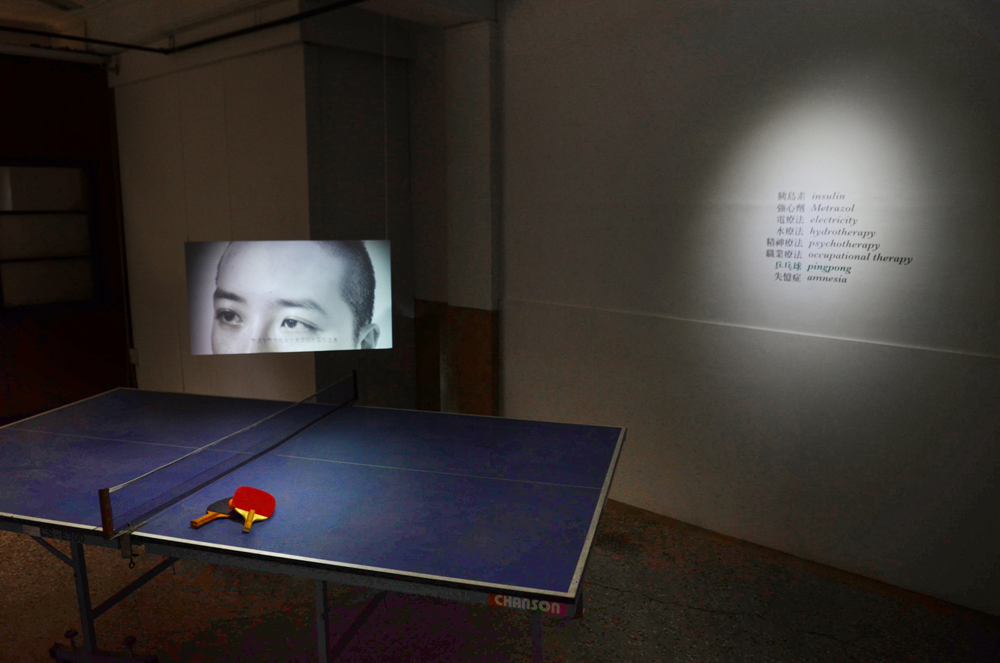 Che Wei Chen,  I'm with you in Rockland  , 2013, Video installation