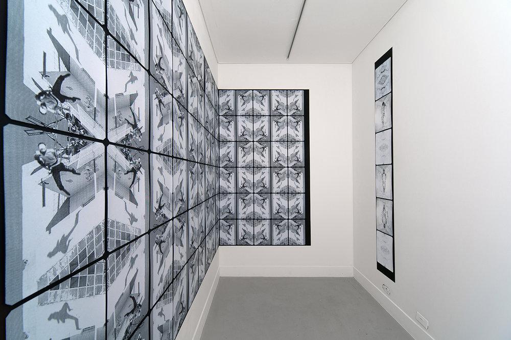 Neil Emmerson,  Semaphore  , 2016, installation view