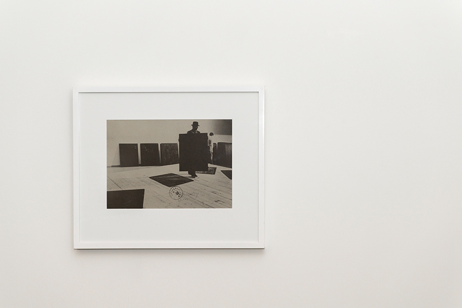 Joseph Beuys,   Installation  , 1977, Offset on grey cardstock, stamped Hauptstrom. Edition: 100 signed and numbered. 30.5 x 43 cm, Private Collection, Melbourne