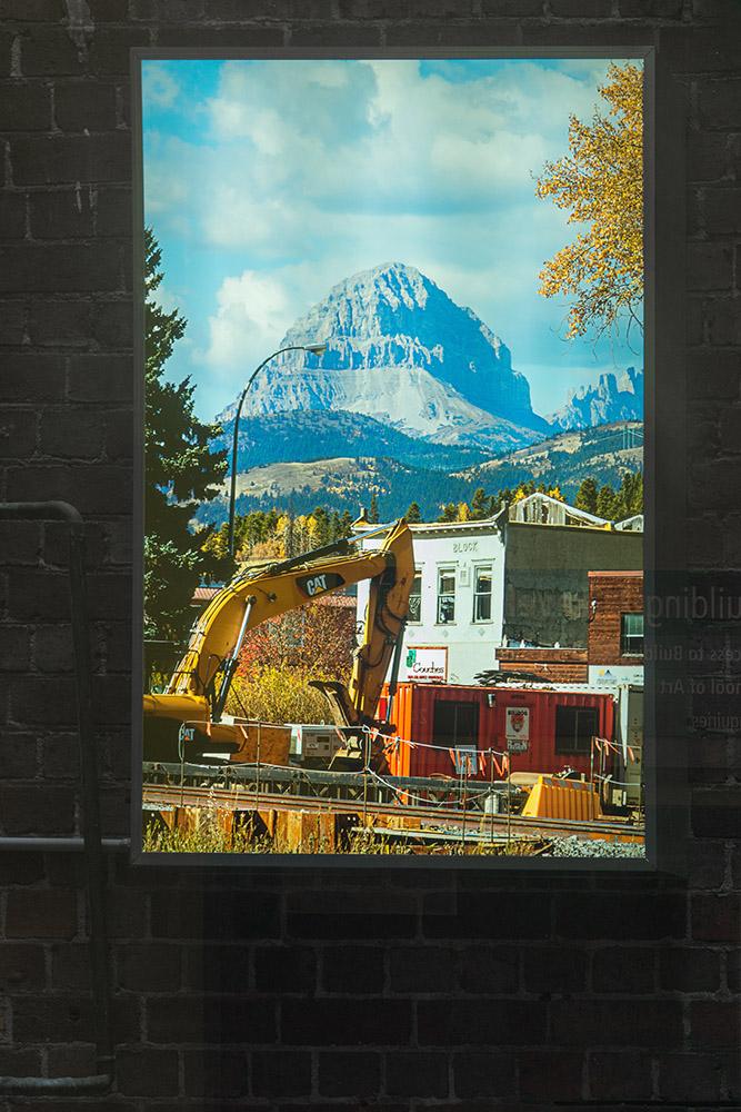 Kirsten Lyttle, Crowsnest Mountain , 2015