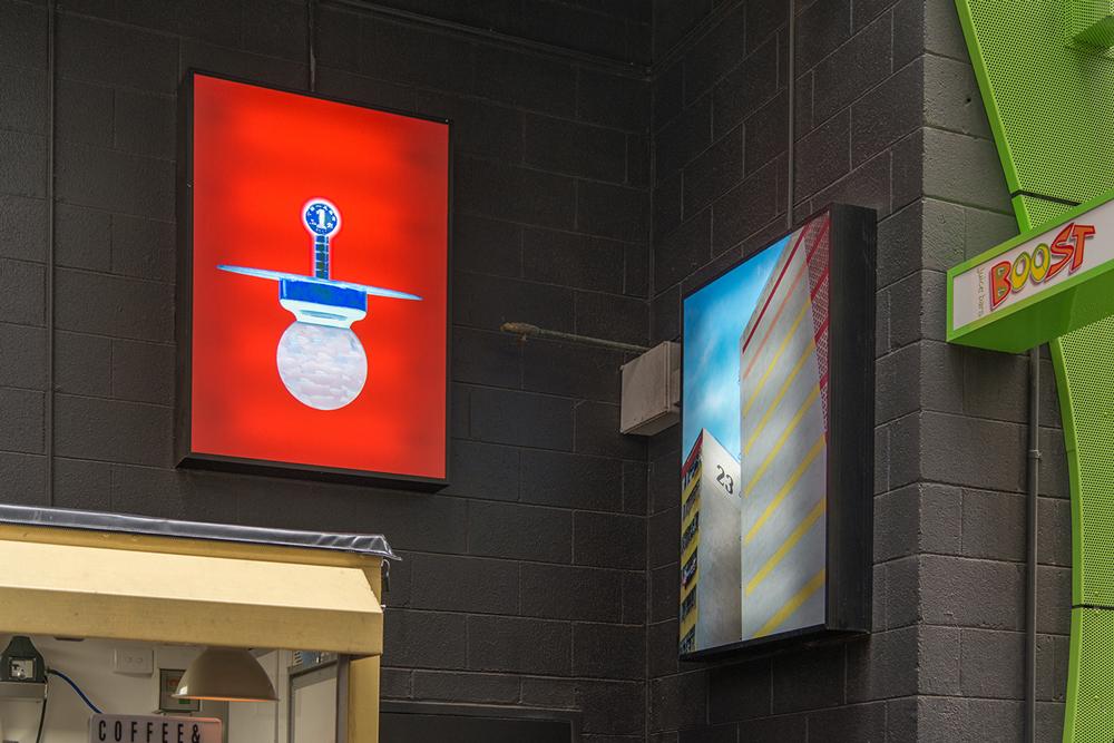 Spectrum, 2016, installation view