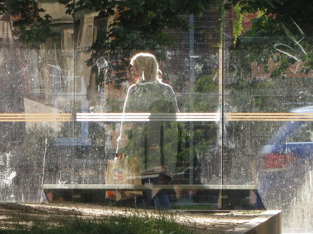 Robert Hamilton,Photograph, Aarhus Bus Stop, 2015