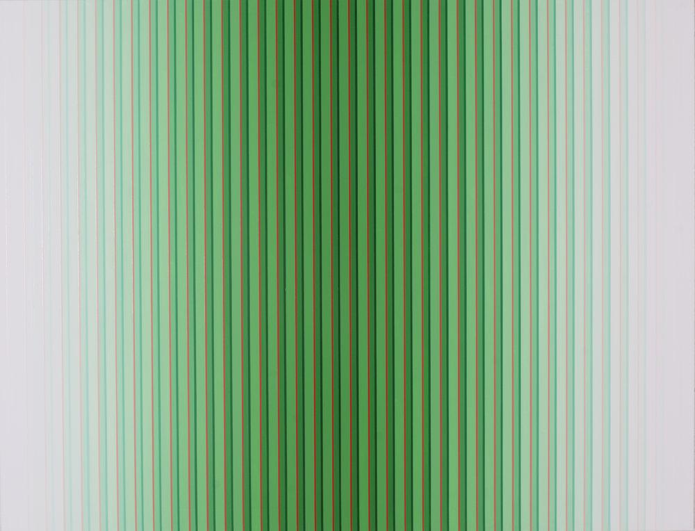 Miok Chung,Transition 1605. 117x91cm, acrylic on canvas, 2016.
