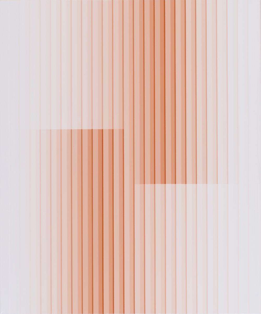 Miok Chung,Transition 1613,72.7x60.6cm, acrylic on canvas, 2016.