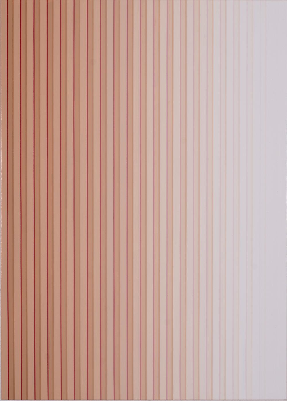 Miok Chung, Transition 1601 ,91x65cm, acrylic on canvas, 2016