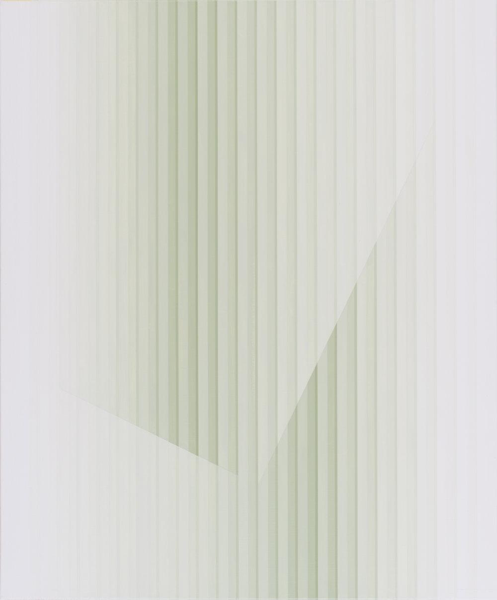 Miok Chung,  Transition 1617 ,72.7x60.6cm, acrylic on canvas, 2016