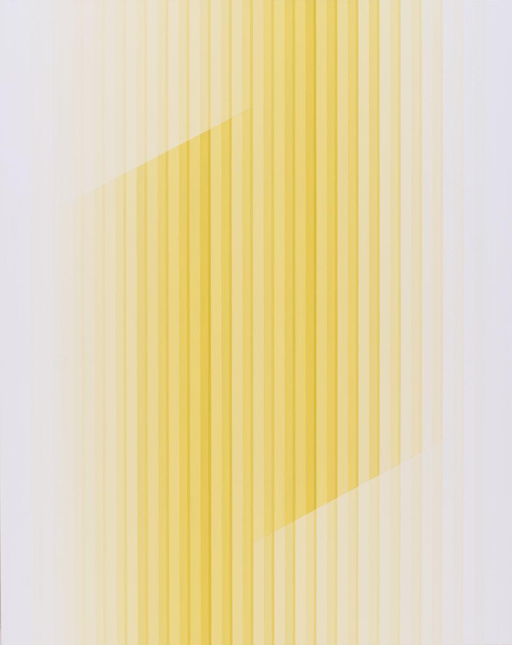 Miok Chung, Transition 1621 ,73x91cm, acrylic on canvas, 2016