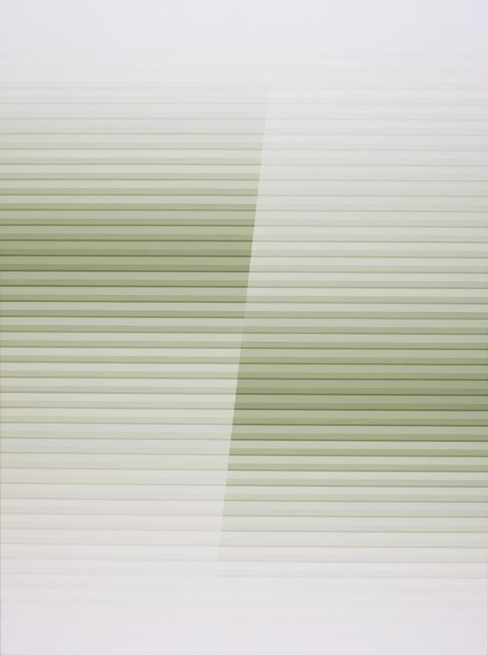 Miok Chung,  Transition 1623 ,97x130.3cm, acrylic on canvas, 2016