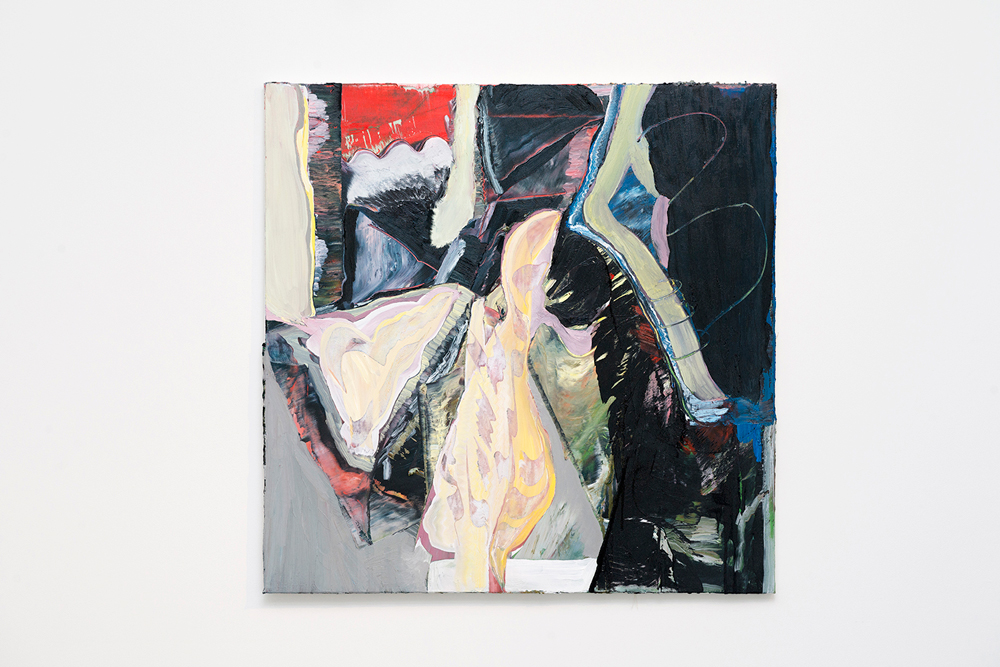 Harry Hay,  The Inch ,2014, oil on canvas, 96 x 96 cm