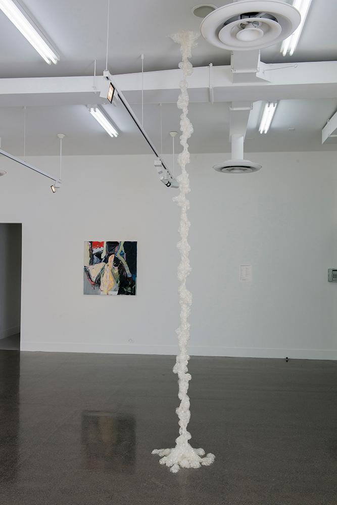 Skye Kelly ,Untitled, 2014, Gelatine, breath, pigment, foaming agent, 380 x 60 x 60cm