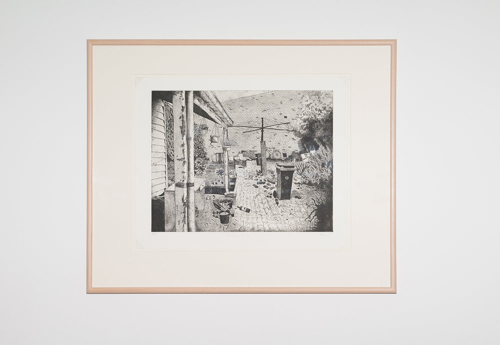 Carolyn Hawkins,  Trashed,  2015, etching, 69 x 54cm. Courtesy of Australian Print Workshop