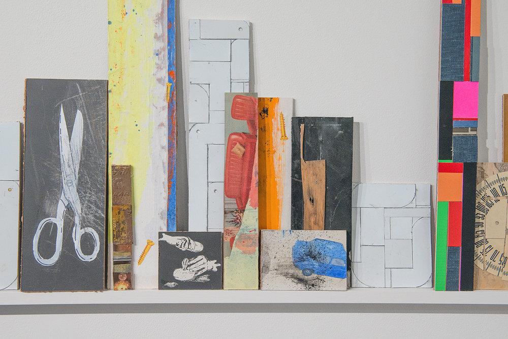 Geoff Hogg,  Intercambio , 2016, mixed media