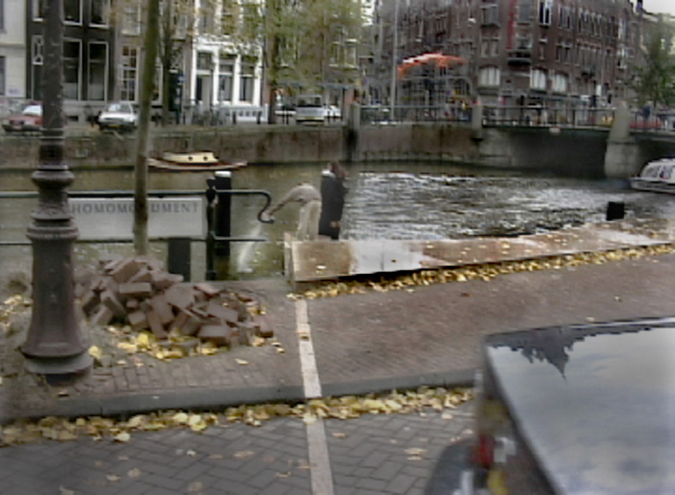 John Di Stefano,  Ashes [Amsterdam],  2008,  Single channel video projection, 5 minute loop