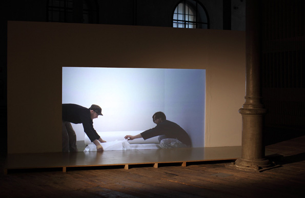 Barbara Kapusta,  Ausstellungstitel , 2010, Installation view, Academy of fine Arts Vienna
