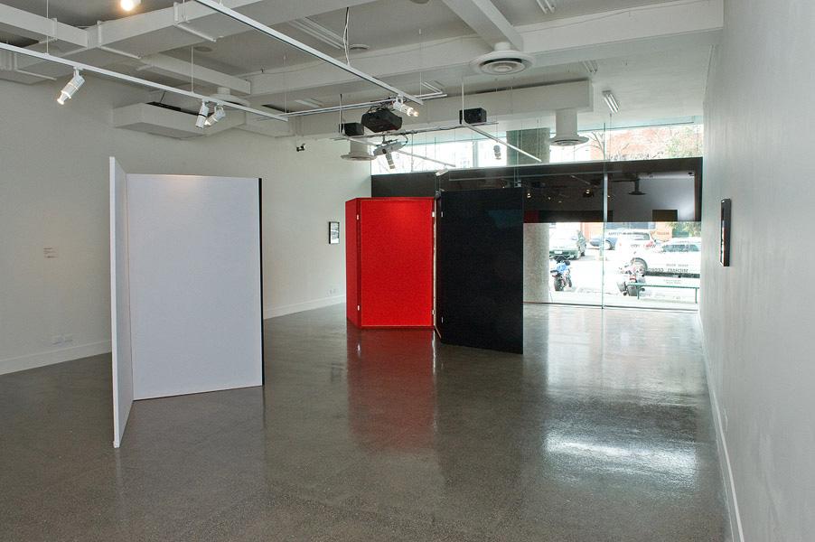 Barbara Kapusta, Exhibition Installation
