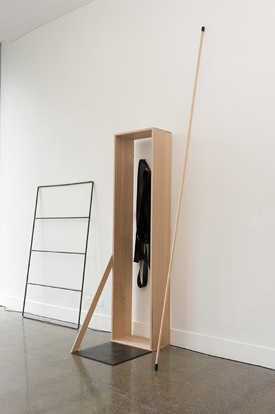 Bridie Lunney and Katie Lee,  non negotiable  Exhibition Installation, 2010