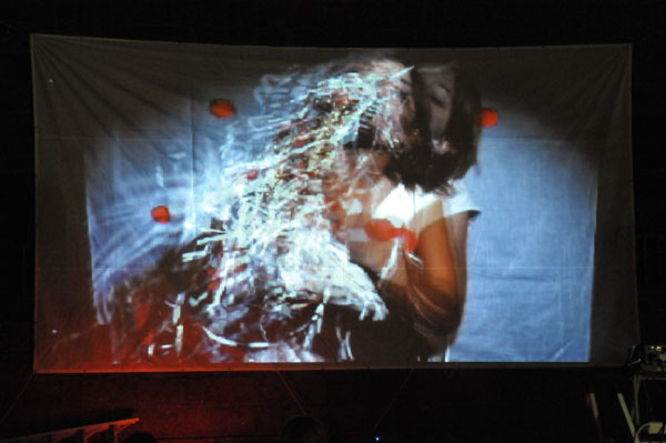 Marco Cher-Gibard and Rosalind Hall,  Live Feeding,  2008