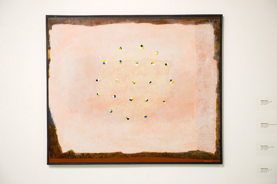 William Ferguson,  Hymn to the Sun,  2010 ,  Acrylic on canvas, 85 cm x 100 cm