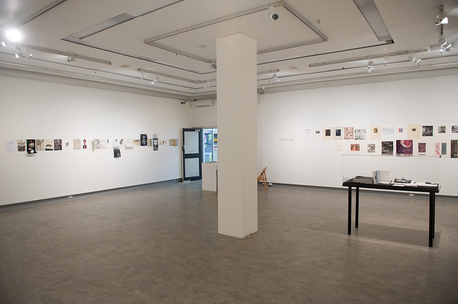 Exchange exhibition installation