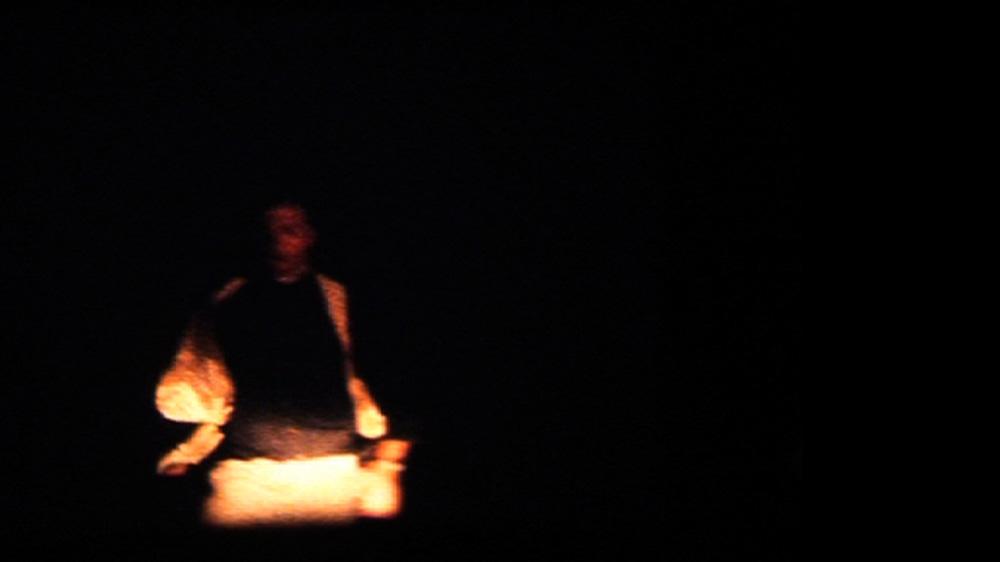 David De Carteret,  Untitled , 2009,single channel standard Definition video projection, silent