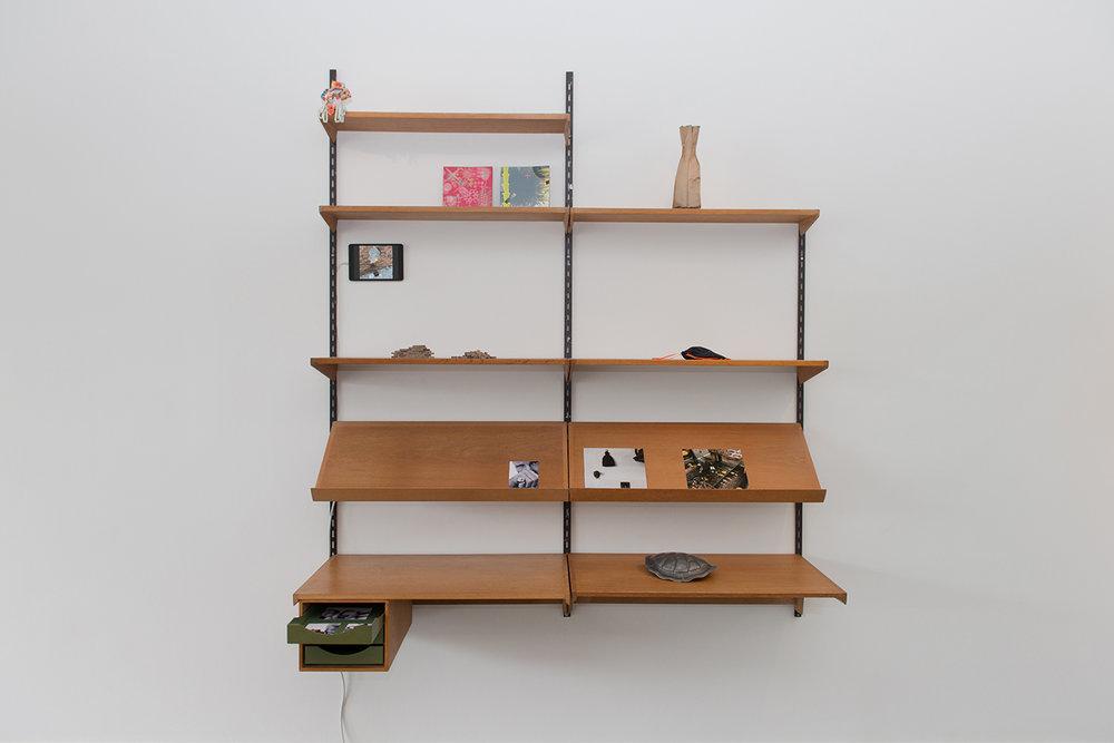 Minegishi / Britton / Bielander  Exhibition Installation, 2017