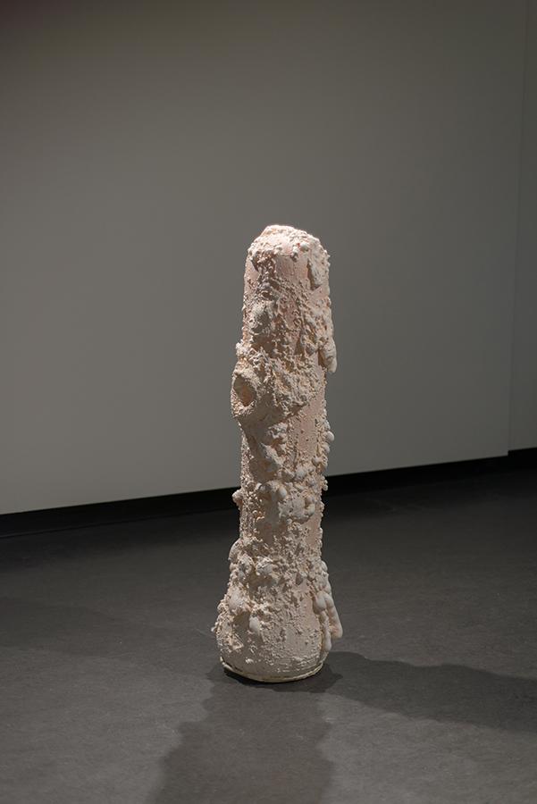 Hans van Hans, The  Inarticulate Body , 2017, Foam, acrylic, plastic, latex, metal, water. Dimensions Variable.