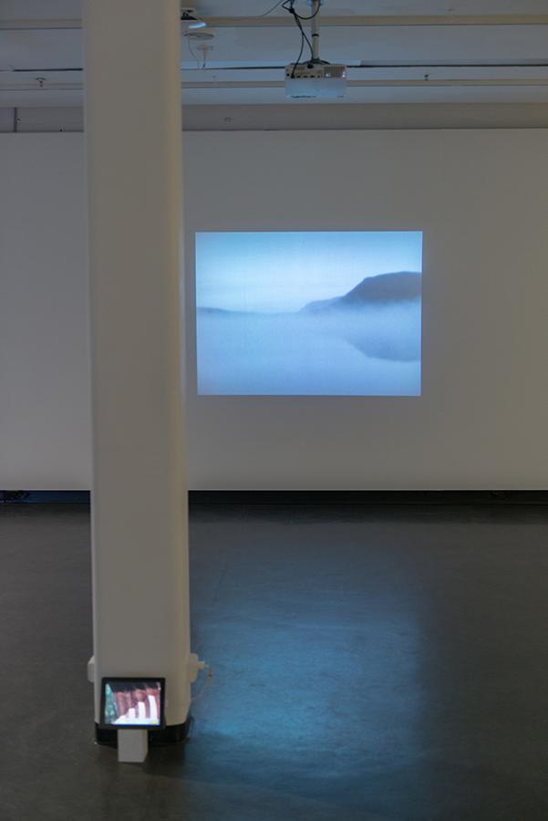 Matthew Berka,  Hafravatn (broken timelapse),  2016, Super 8mm transferred to HD video, black and white, silent, 4:3, 2 minutes 23 seconds