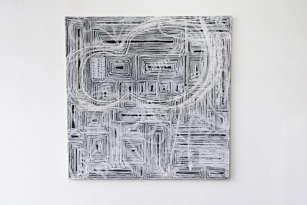 Rui Mizuki,  C's , 2017, Installation view