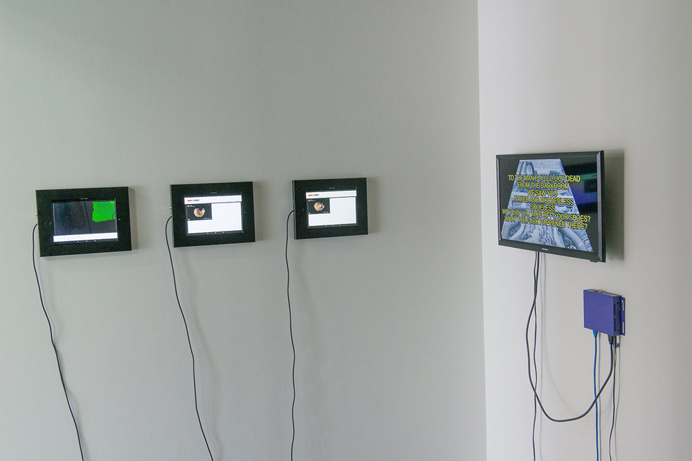 Queertech.io = ART(URL, IRL),  2018, Installation View