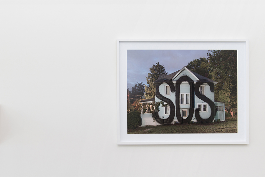 SOS, 2015-17 Archival photographic print from ISLAND series Edition of 10 + 2 APs 119 x 153 cm