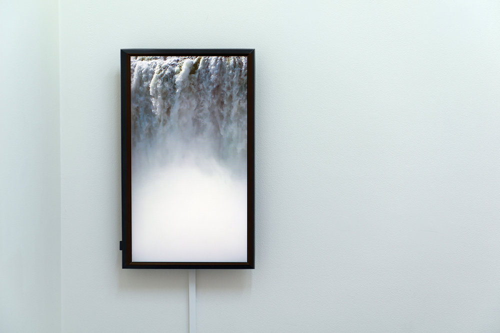 Lucie McIntosh,  Untitled (Waterfall) , 2018  Single-channel video, looped