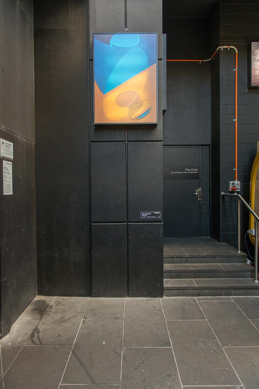 Julia Burke. Installation view of  Highlights,  2018.