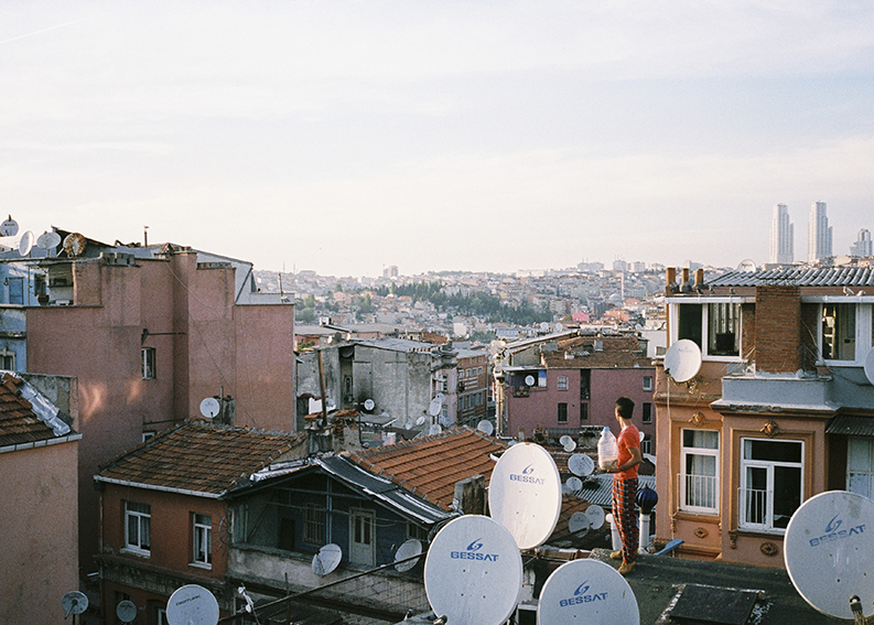 Sarah Pannell,  Instanbul Rooftops , 2014