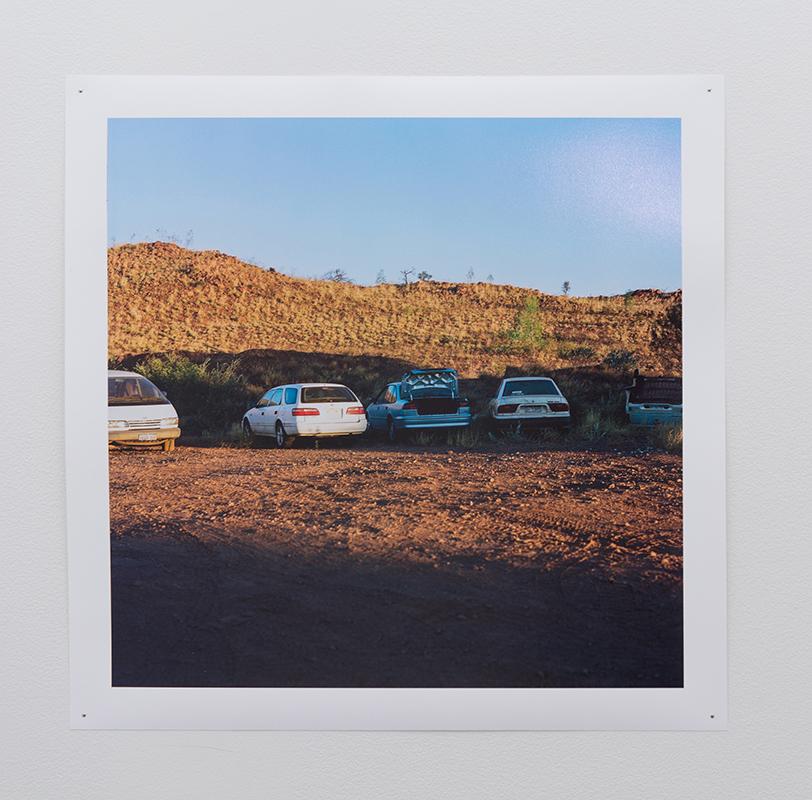 Chloe Bartram   Woodstock Street , 2018  Inkjet print, 48 x 48cm