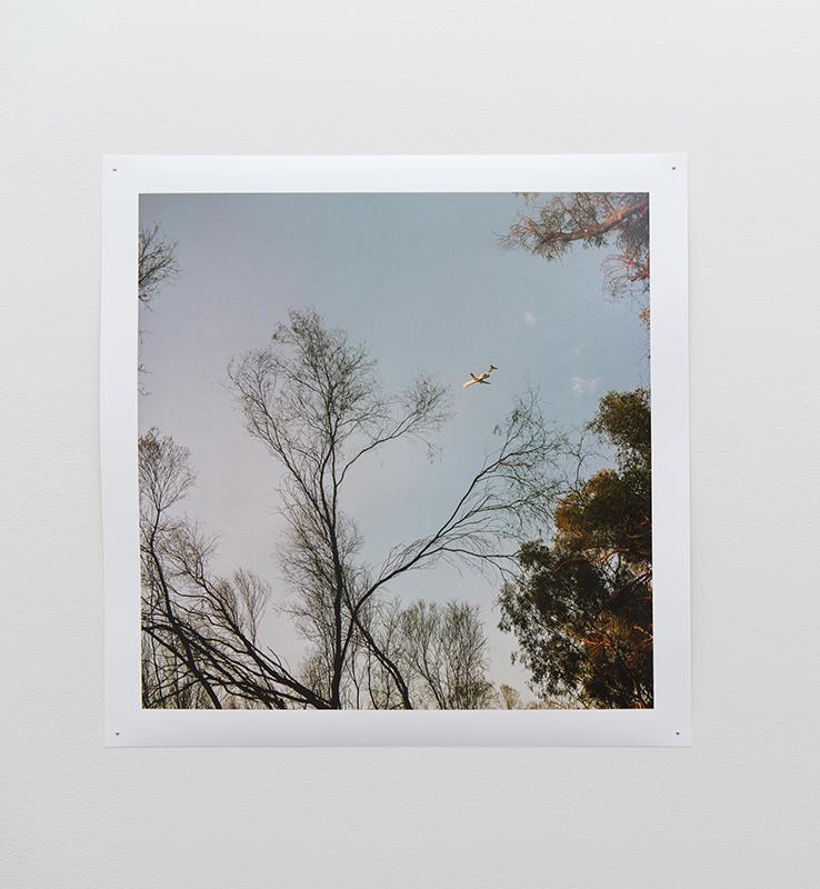 Chloe Bartram   Leaving,  2018  Inkjet print, 48 x 48cm