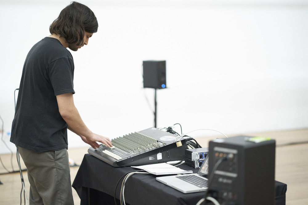 Josh Peters, SUBSTANCE, Live 12-channel sound diffusion, 9' 44'', Photograph by James Maher