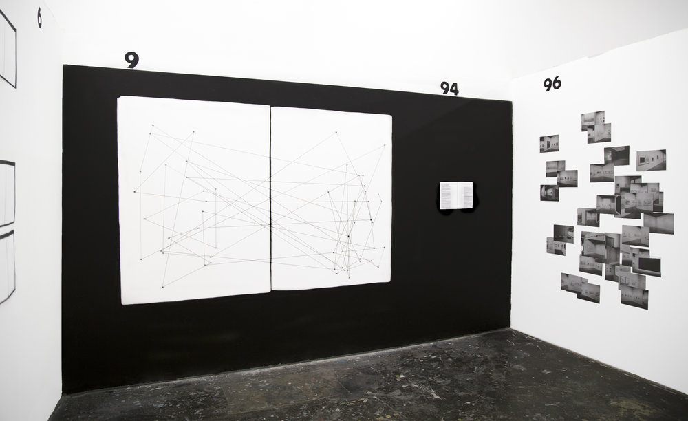 Enar de Dios Rodriguez, Exhibition view of  Drawing Now , 2015, Courtesy the artist.