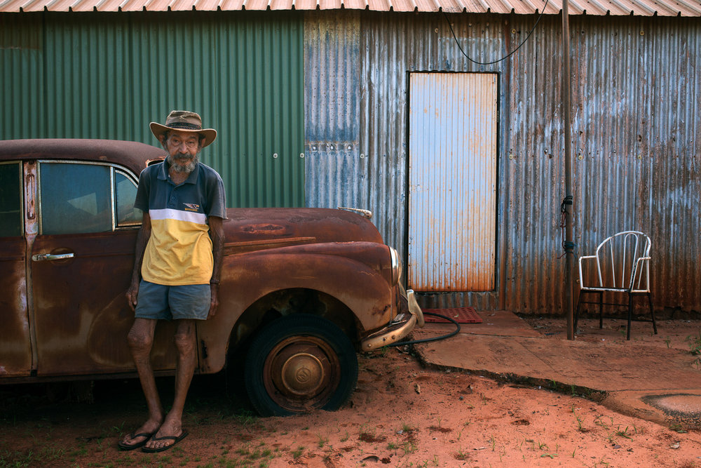 Frank Ozies, Broome, 2014.