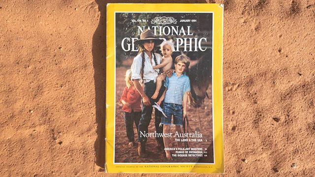 Back in 2011, I bought a stack of National Geographics at a garage sale for $1 when I was living in South Australia.  This copy peaked my interest because I was heading to WA but never actually thought I'd make it to the to the Kimberley. I arrived later that year after spending six months living out my car, sleeping in a tent and photographing new landscapes and people. There was nothing like having the sky as my ceiling and waking up in the bush, to give me a renewed sense of wonder about the world and our place in it. . . .