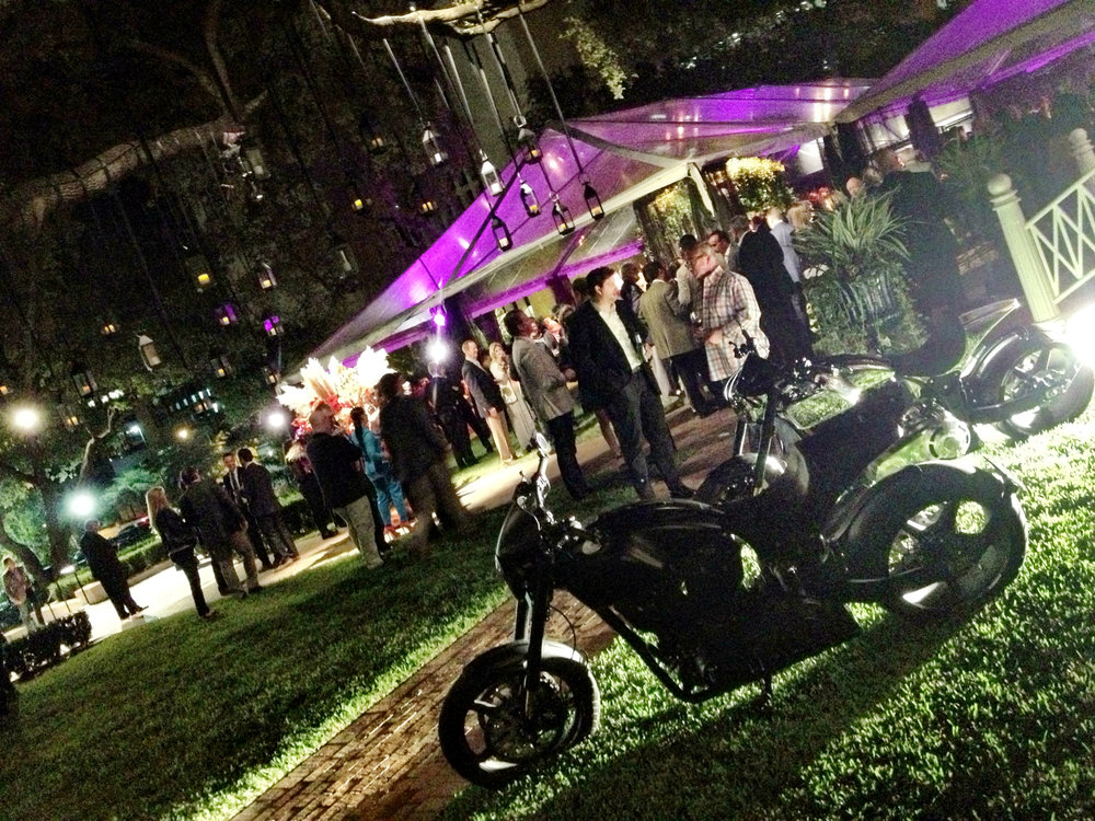 F1 reception at the Texas Governor's Mansion.