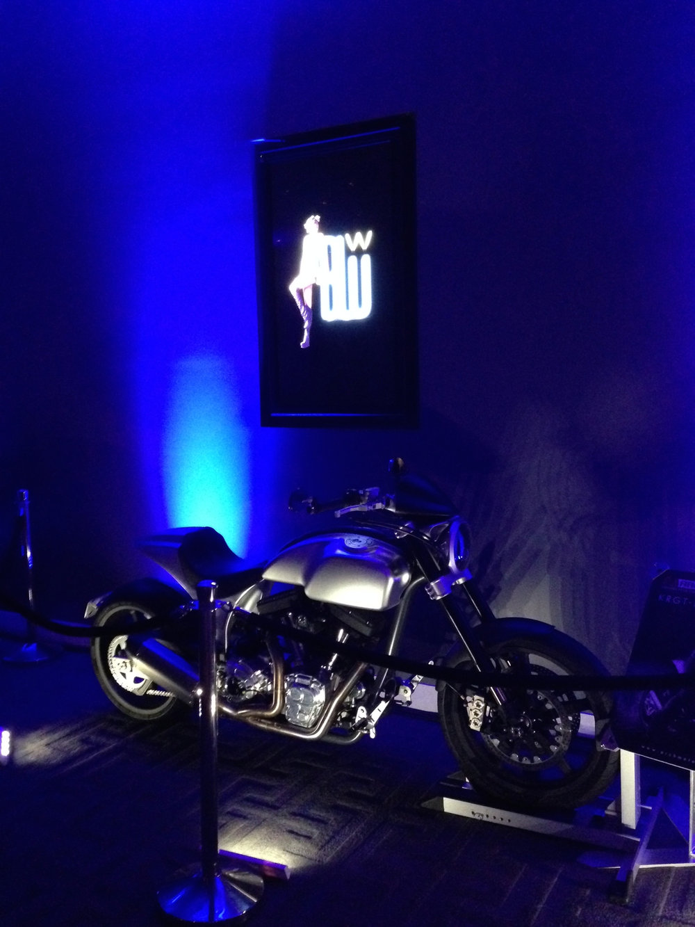 KRGT-1 display at the Red Bull after party.