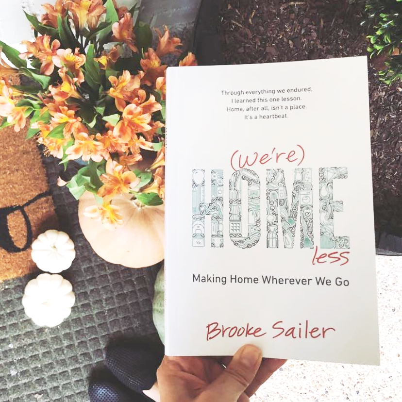 (We're) Homeless by Brooke Sailer