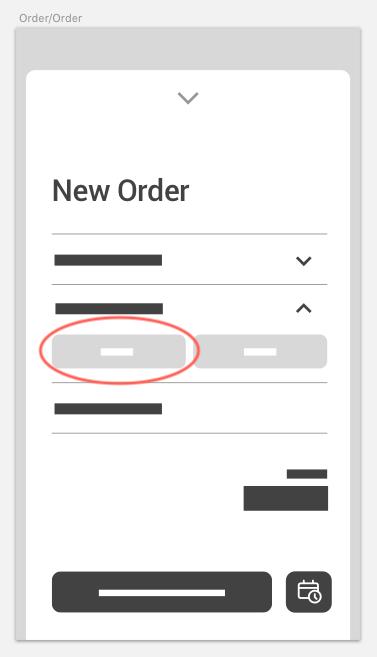 Edit item button