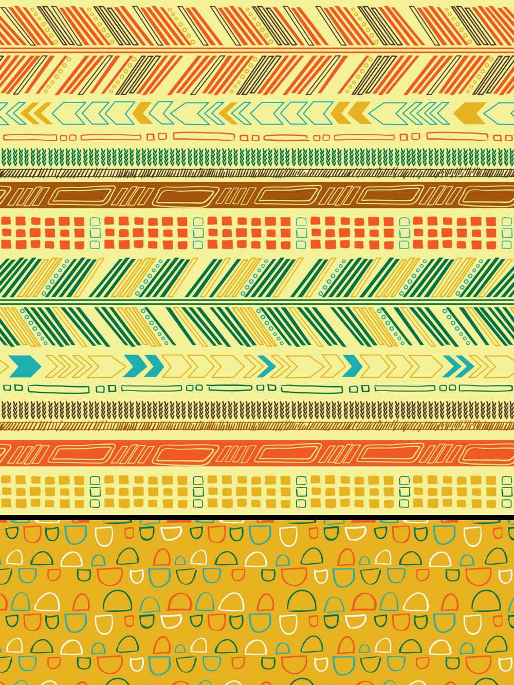 Chevron Tribal Pattern