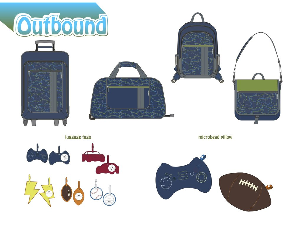Target Boys Luggage Designs