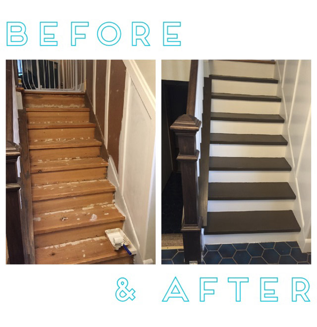 Stairs & Railing Remodel