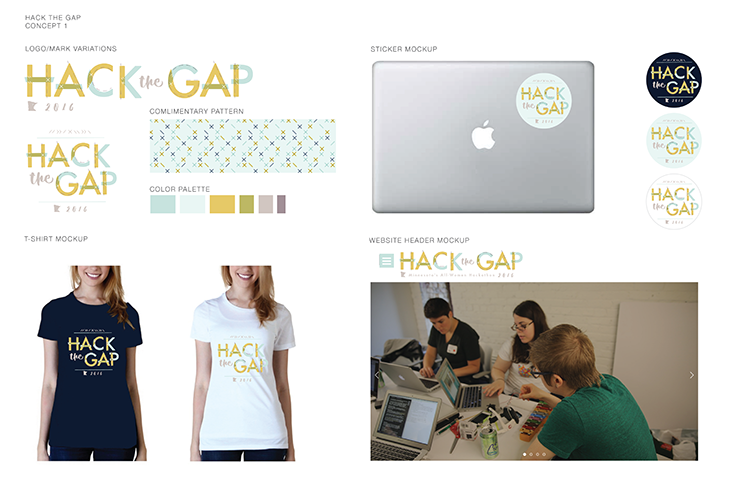 Hack the Gap Brand Assets