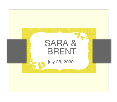 Sara & Brent Gift Design
