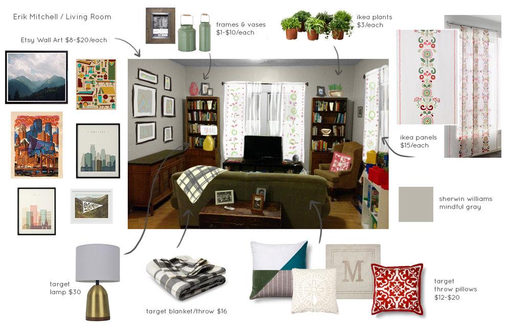 Living Room Mock-up