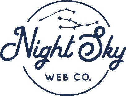 Night Sky Web Company Logo